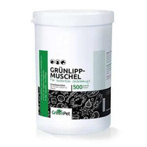 GreenPet Grünlippmuschel Pulver – 100% pur & naturrein