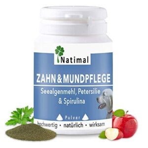 Natimal. Schlaue Zahn- & Mundpflege Plus Vitamin C für Hunde