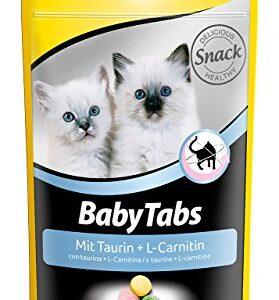 GimCat Baby Tabs – bunte Katzensnacks mit Taurin und L-Carnitin – ohne Farb- und Geschmacksstoffe