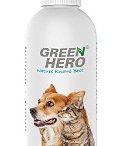 Green Hero Ohrenwunder für Hunde- und Katzen, 200 ml, Pflegt und reinigt das Ohr bei Ohrenmilben, Hefepilzen, Juckreiz, Entzündungen, Infektionen und Ausfluss