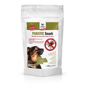 DOGS-HEART Anti-Zecken Snack (150g) für Hunde – Natürliche Abwehr gegen Zecken, Flöhe und Milben – Auch für Welpen geeignet